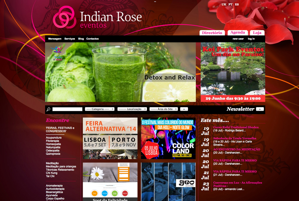 Indian Rose - Brandimage