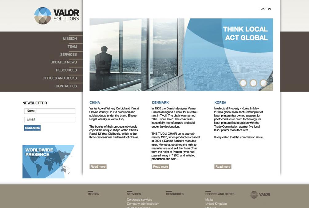 Valor Solutions - Brandimage