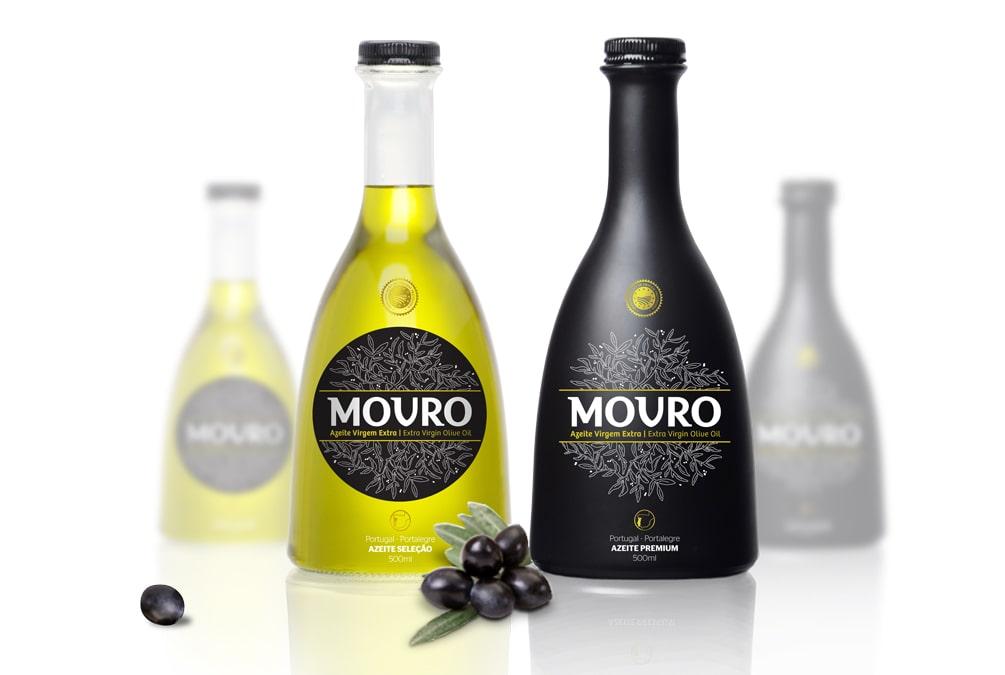 rótulo da marca azeite Movro