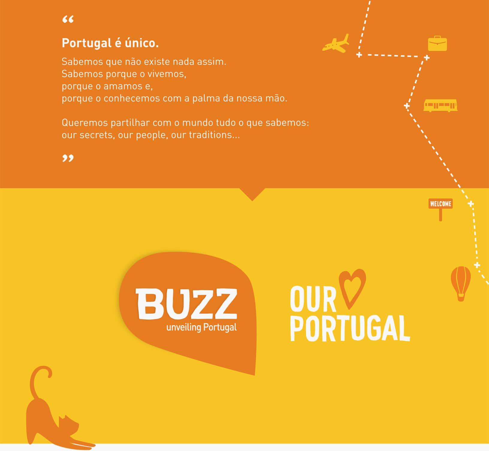 projeto de branding para a marca Buzz
