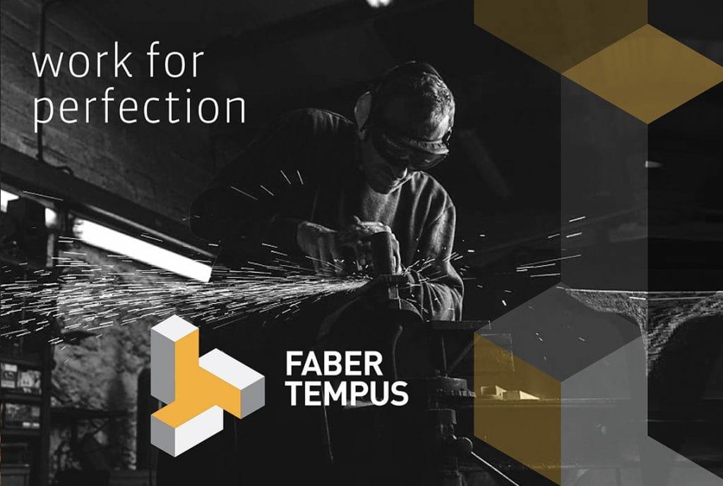 branding da marca Faber Tempus