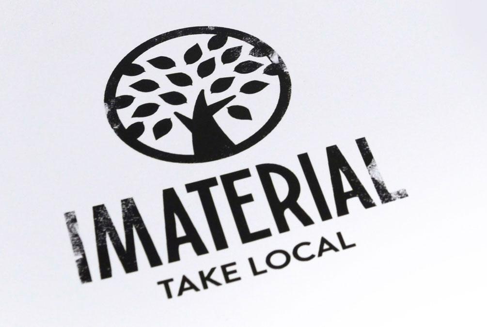 logotipo da marca Imaterial, Projecto Brandimage